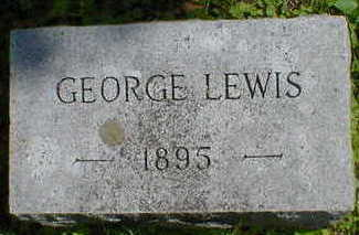 LEWIS, GEORGE - Cerro Gordo County, Iowa | GEORGE LEWIS