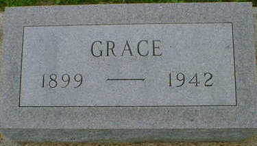 LINAHON, GRACE - Cerro Gordo County, Iowa | GRACE LINAHON