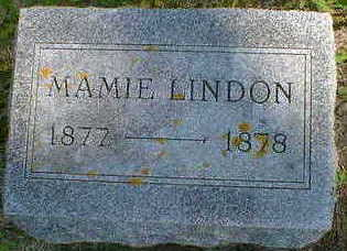 LINDON, MAMIE - Cerro Gordo County, Iowa | MAMIE LINDON