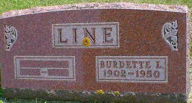 LINE, BURDETTE L. - Cerro Gordo County, Iowa | BURDETTE L. LINE