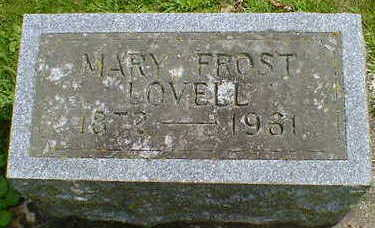 LOVELL, MARY - Cerro Gordo County, Iowa | MARY LOVELL