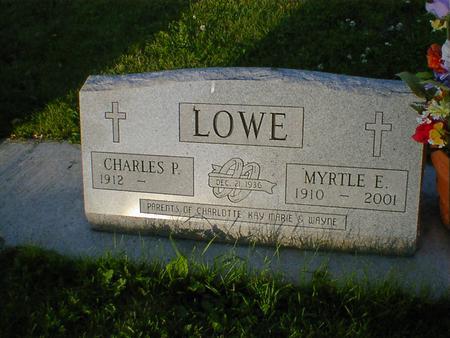 LOWE, MYRTLE E. - Cerro Gordo County, Iowa | MYRTLE E. LOWE