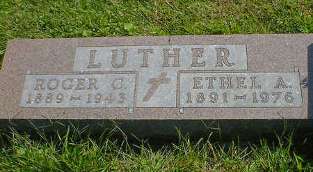 LUTHER, ETHEL A. - Cerro Gordo County, Iowa | ETHEL A. LUTHER