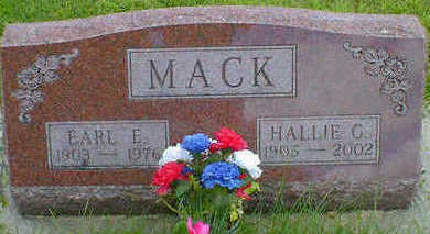 MACK, HALLIE G. - Cerro Gordo County, Iowa | HALLIE G. MACK
