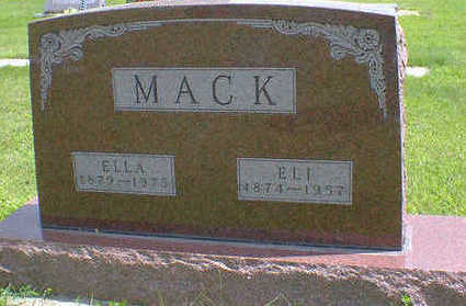 MACK, ELLA - Cerro Gordo County, Iowa | ELLA MACK