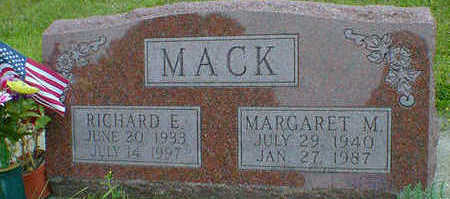 MACK, RICHARD E. - Cerro Gordo County, Iowa | RICHARD E. MACK