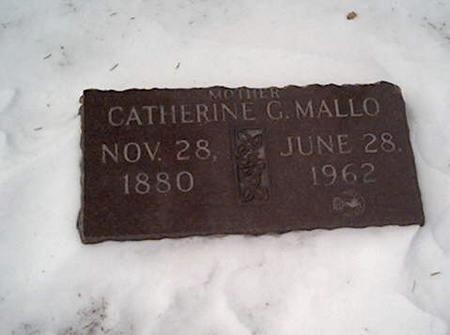 MALLO, CATHERINE - Cerro Gordo County, Iowa | CATHERINE MALLO