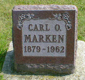 MARKEN, CARL O. - Cerro Gordo County, Iowa | CARL O. MARKEN