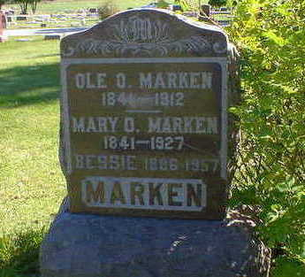MARKEN, MARY O. - Cerro Gordo County, Iowa | MARY O. MARKEN