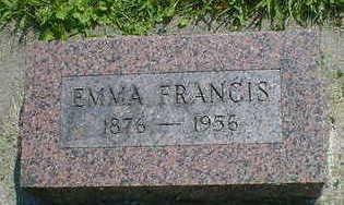 MARLOW, EMMA FRANCIS - Cerro Gordo County, Iowa | EMMA FRANCIS MARLOW