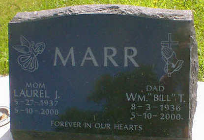 MARR, LAUREL J. - Cerro Gordo County, Iowa | LAUREL J. MARR