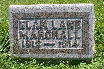 MARSHALL, ELAN LANE - Cerro Gordo County, Iowa | ELAN LANE MARSHALL