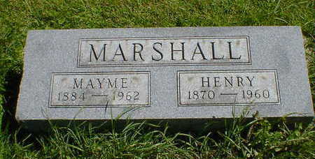 MARSHALL, HENRY - Cerro Gordo County, Iowa | HENRY MARSHALL