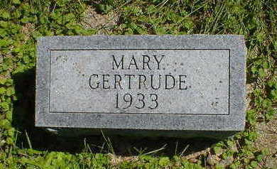 MARSHALL, MARY GERTRUDE - Cerro Gordo County, Iowa | MARY GERTRUDE MARSHALL