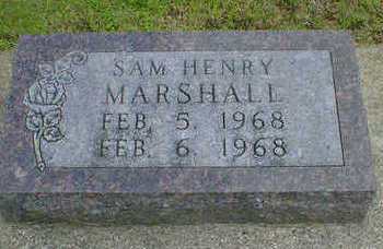 MARSHALL, SAM HENRY - Cerro Gordo County, Iowa | SAM HENRY MARSHALL