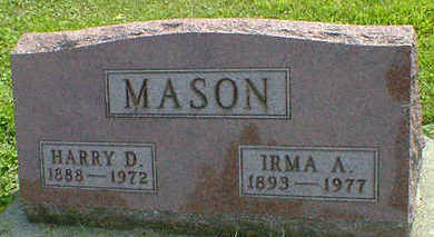 MASON, HARRY D. - Cerro Gordo County, Iowa | HARRY D. MASON
