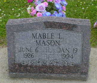 MASON, MABLE L. - Cerro Gordo County, Iowa | MABLE L. MASON