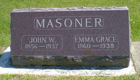 MASONER, EMMA GRACE (MILLER) - Cerro Gordo County, Iowa | EMMA GRACE (MILLER) MASONER
