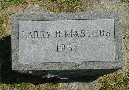 MASTERS, LARRY R. - Cerro Gordo County, Iowa | LARRY R. MASTERS
