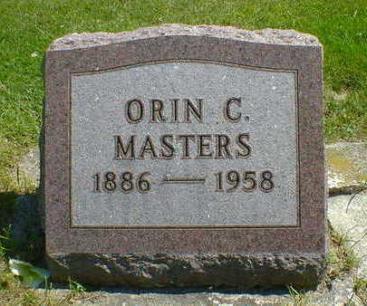 MASTERS, ORIN C. - Cerro Gordo County, Iowa | ORIN C. MASTERS