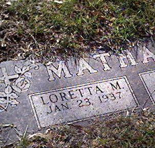 MATHAHS, LORETTA - Cerro Gordo County, Iowa | LORETTA MATHAHS