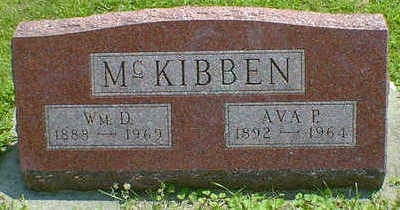 MC KIBBEN, WM. D. - Cerro Gordo County, Iowa | WM. D. MC KIBBEN