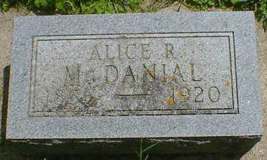 MCDANIEL, ALICE R. - Cerro Gordo County, Iowa | ALICE R. MCDANIEL