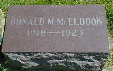 MCELDOON, DONALD M. - Cerro Gordo County, Iowa | DONALD M. MCELDOON