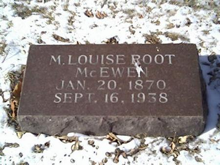 ROOT, LOUISE M. - Cerro Gordo County, Iowa | LOUISE M. ROOT