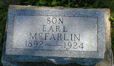 MCFARLIN, EARL - Cerro Gordo County, Iowa | EARL MCFARLIN