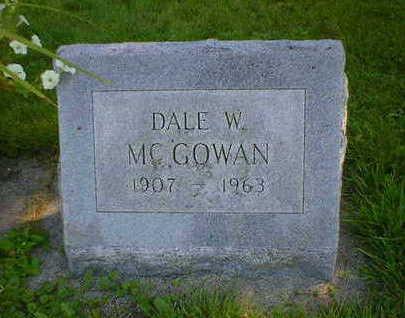 MCGOWAN, DALE W. - Cerro Gordo County, Iowa | DALE W. MCGOWAN