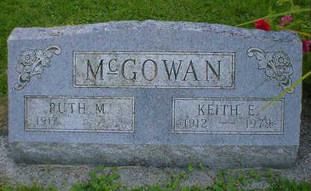 MCGOWAN, KEITH E. - Cerro Gordo County, Iowa | KEITH E. MCGOWAN
