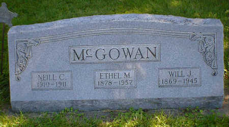 MCGOWAN, ETHEL M. - Cerro Gordo County, Iowa | ETHEL M. MCGOWAN