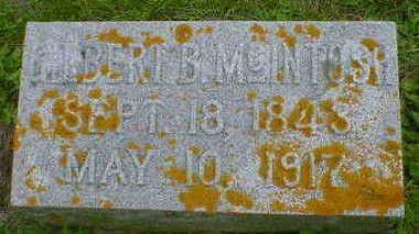 MCINTOSH, GILBERT B. - Cerro Gordo County, Iowa | GILBERT B. MCINTOSH