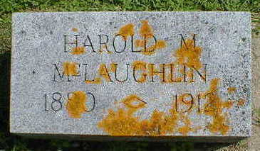 MCLAUGHLIN, HAROLD M. - Cerro Gordo County, Iowa | HAROLD M. MCLAUGHLIN