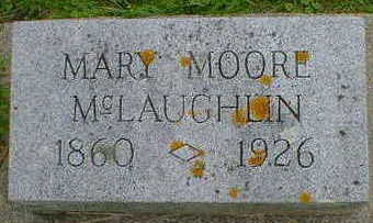 MOORE MCLAUGHLIN, MARY - Cerro Gordo County, Iowa | MARY MOORE MCLAUGHLIN