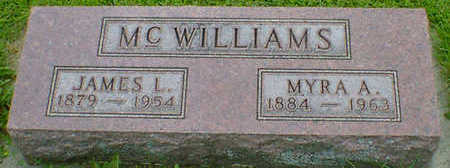 MCWILLIAMS, MYRA A. - Cerro Gordo County, Iowa | MYRA A. MCWILLIAMS