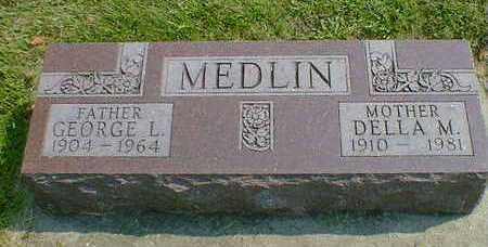 MEDLIN, GEORGE L. - Cerro Gordo County, Iowa | GEORGE L. MEDLIN
