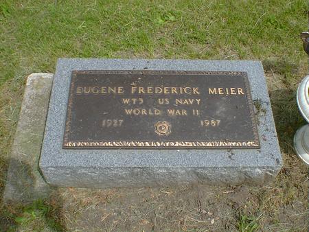 MEIER, EUGENE FREDERICK - Cerro Gordo County, Iowa | EUGENE FREDERICK MEIER