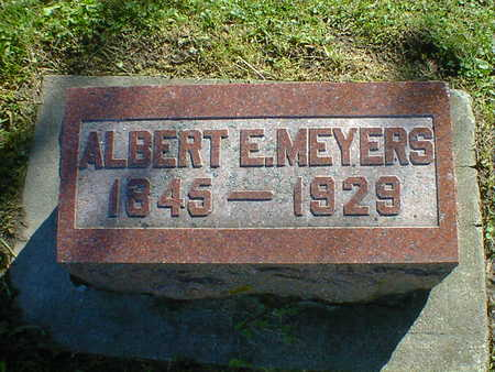 MEYERS, ALBERT E. - Cerro Gordo County, Iowa | ALBERT E. MEYERS
