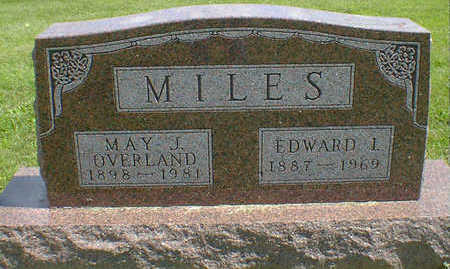 MILES, EDWARD I. - Cerro Gordo County, Iowa | EDWARD I. MILES