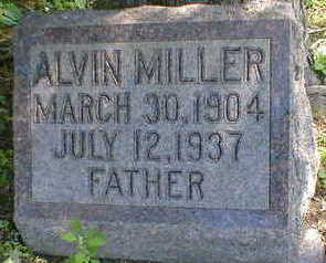 MILLER, ALVIN - Cerro Gordo County, Iowa | ALVIN MILLER