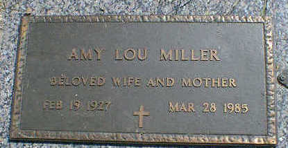 MILLER, AMY LOU - Cerro Gordo County, Iowa | AMY LOU MILLER