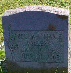 MILLER, BEULAH MARIE - Cerro Gordo County, Iowa | BEULAH MARIE MILLER