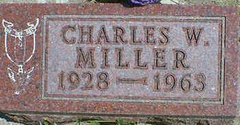 MILLER, CHARLES W. - Cerro Gordo County, Iowa | CHARLES W. MILLER