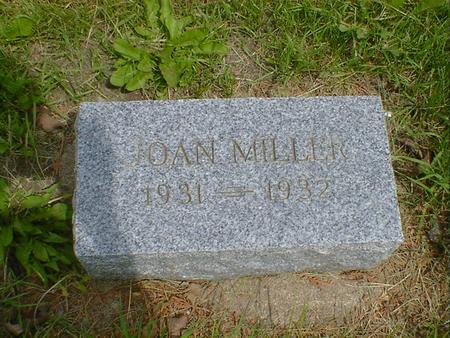 MILLER, JOAN - Cerro Gordo County, Iowa | JOAN MILLER
