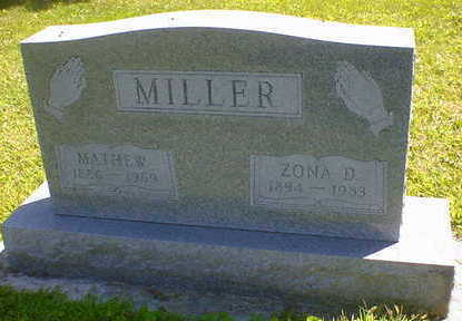 MILLER, MATHEW - Cerro Gordo County, Iowa | MATHEW MILLER