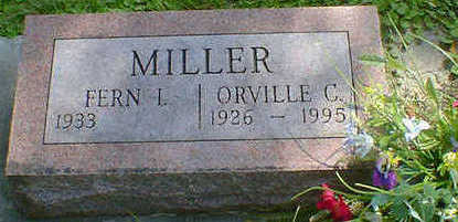MILLER, ORVILLE C. - Cerro Gordo County, Iowa | ORVILLE C. MILLER