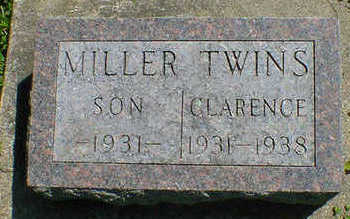 MILLER, TWIN SON - Cerro Gordo County, Iowa | TWIN SON MILLER