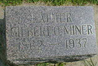 MINER, GILBERT - Cerro Gordo County, Iowa | GILBERT MINER